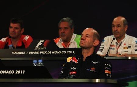 GP de Mónaco F1 2011: Adrian Newey confirma los problemas con el KERS