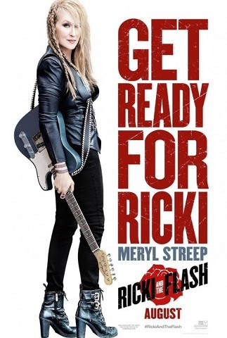 'Ricki and the Flash', tráiler y cartel de lo nuevo de Jonathan Demme con Meryl Streep