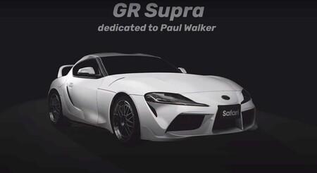 Toyta Supra Paul Walker Toms Racing 3