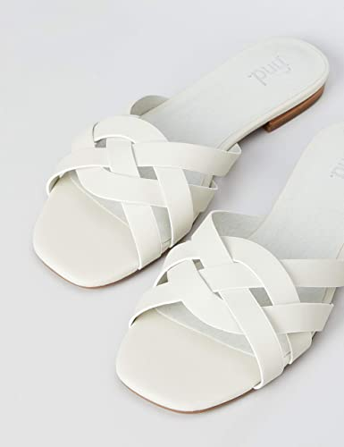 Marca Amazon - find. Sandalias con punta abierta Mujer