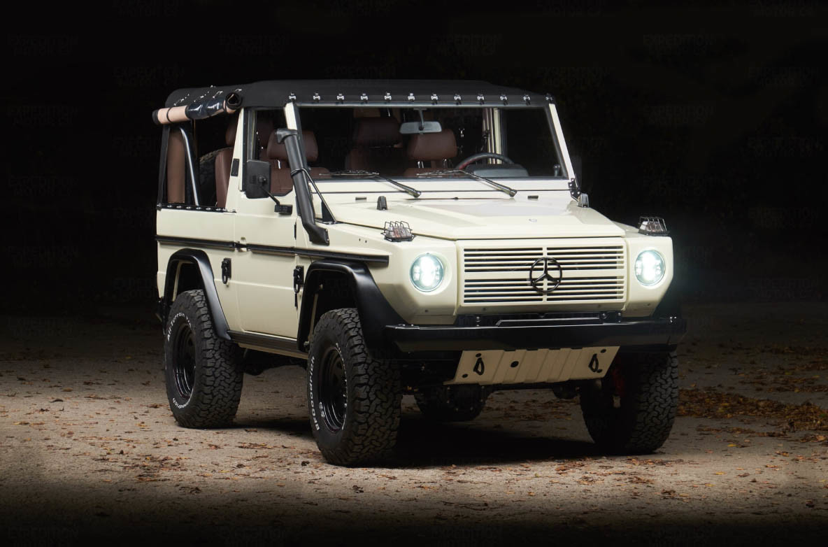 Mercedes-Benz 250GD White Wolf