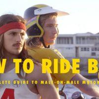 How to ride bitch, cómo ir de paquete sin perder tu masculinidad