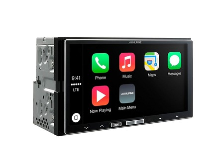 radio alpine CarPlay