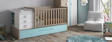 Convertible o convencional, ¿cuál es la cuna perfecta para un bebé?