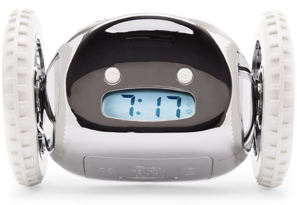 Despertador que corre