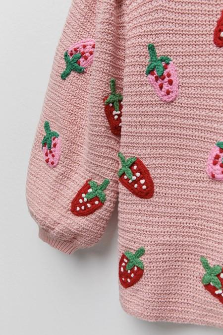 Zara Jersey Fresas Crochet 03