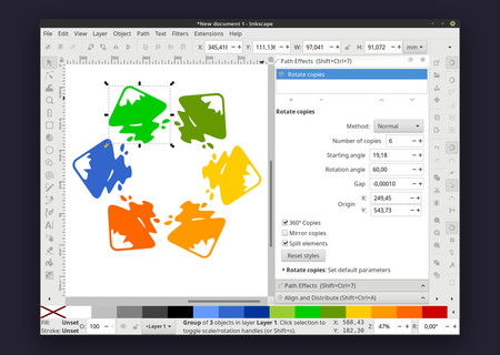 Solo tomó 16 años, pero ya podemos descargar la versión 1.0 de Inkscape para Windows, Linux y macOS