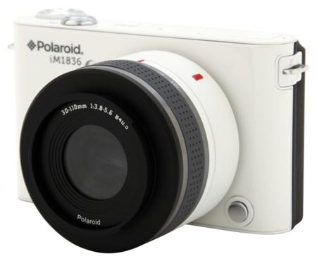 Polaroid iM1836, objetivos intercambiables y sistema operativo Android
