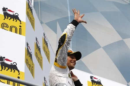 GP2 Hungría 2011: Romain Grosjean acaricia el campeonato