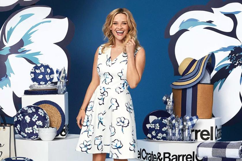 5a569810 La actriz Reese Witherspoon lanza una línea de complementos para el hogar  en colaboración con Crate and Barrel