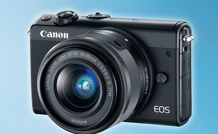 """Canon EOS M200, toda la información sobre la nueva sin espejo de entrada con 4K y diseñada para dejar """"aparcado"""" el móvil"""