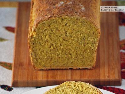 Pan de maíz y finas hierbas. Receta para el Día Mundial del Pan