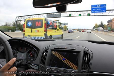 Opel Insignia, al volante