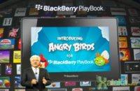La Playbook también tendrá su ración de Angry Birds