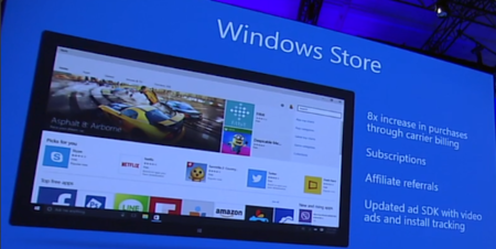 Windows 10 Store Build15
