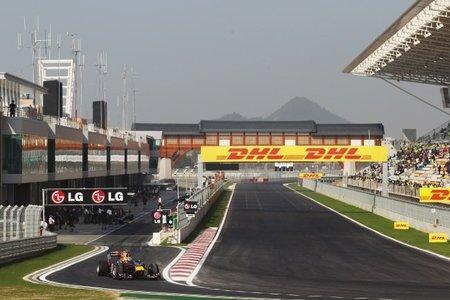 GP de Corea del Sur de Fórmula 1: Mark Webber y Fernando Alonso se lanzan en los segundos libres