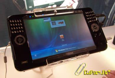CeBIT 2007: Samsung Q1P Pentium SSD