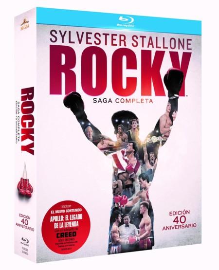 La saga completa de Rocky en blu-ray por 16,65 euros