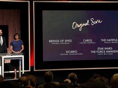 Oscars 2016 | Escucha las bandas sonoras y las canciones de las películas nominadas