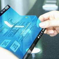 Según sus propias patentes, las pantallas flexibles de Samsung serán sensibles a la presión