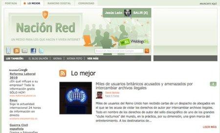 """Nuevas funciones en Nación Red: pestaña con """"Lo mejor"""" y más integración con Facebook"""