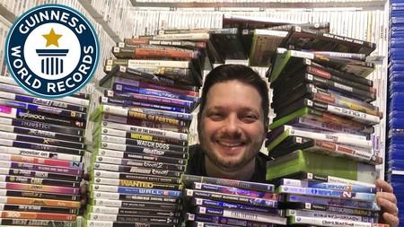 Así es la mayor colección de videojuegos del mundo según los Guinness World Records