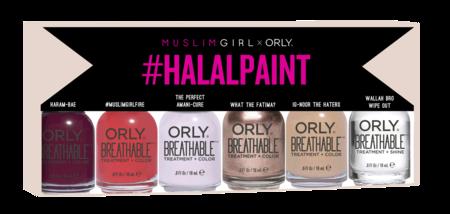 orly breathable mujeres musulmanas beauty uñas esmalte pintauñas halal