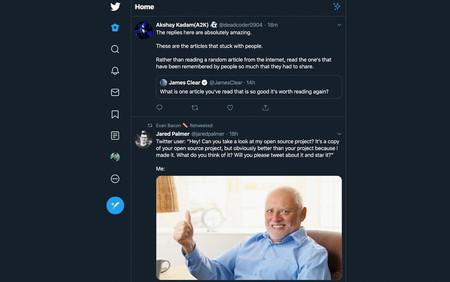 Simplified Twitter, una extensión para Chrome y Firefox que simplifica la nueva web de Twitter centrándose en los tuits