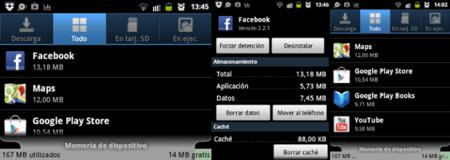 Apps y memoria