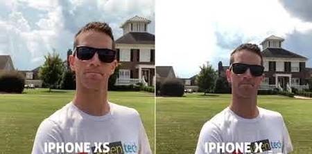Sobreexposición en el iPhone X