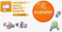 Euskaltel limitará a 64 Kbps sus 100 MB gratis para navegar desde móvil