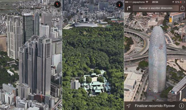 Tokio se estrena en 3D en los Mapas de Apple mientras probamos los nuevos Recorridos Flyover de iOS 8