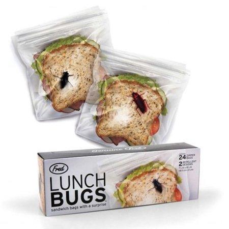 Pon un bicho en tu sandwich para que no te lo roben