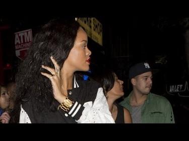 Lo que faltaba, Rihanna amiguísima de Rob Kardashian