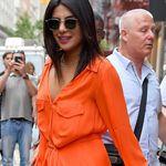 Dos looks muy veraniegos que prueban el estilazo de Priyanka Chopra hasta con rodillera
