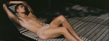 Ludovic de Saint Sernin explora la sensualidad masculina con su nueva colección de bañadores