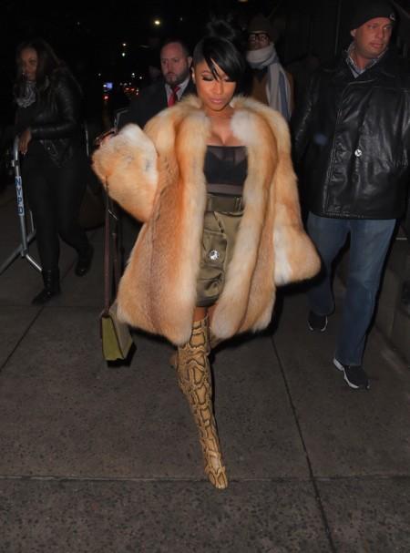 Nicki Minaj Nyfw 2015