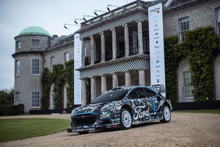 El Ford Puma Rally1 es el nuevo coche de carreras híbrido enchufable de Ford, y sustituirá al Fiesta en el WRC