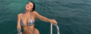 Kylie Jenner aprovecha sus vacaciones para enseñar a sus fans su nueva manicura