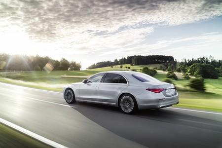 Mercedes Clase S suspensión recarga batería