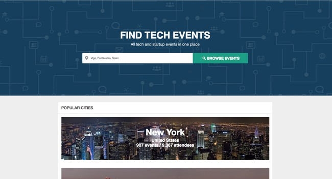 Techevents Co All Tech And Startup Events In One Place