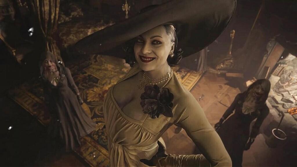 Con este cómico mod de Resident Evil Village harás que el sombrero de Lady Dimitrescu crezca hasta límites insospechados cada vez que lo mires
