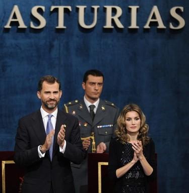 La Princesa Letizia en los Premios Príncipe de Asturias
