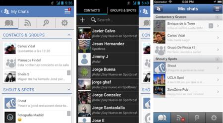 Spotbros se actualiza con una nueva interfaz y aplicaciones integradas