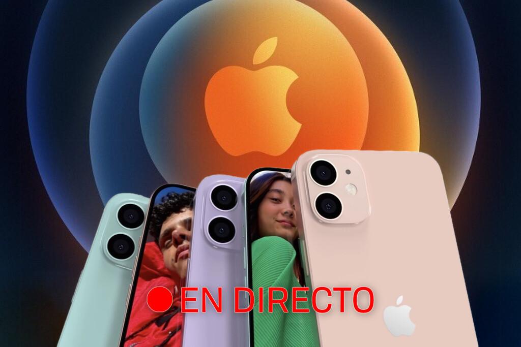 iPhone 12: sigue en directo y en vídeo la presentación de hoy con nosotros