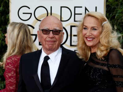 Curioso, pero cierto: Rupert Murdoch y Jerry Hall anuncian boda a bombo y platillo