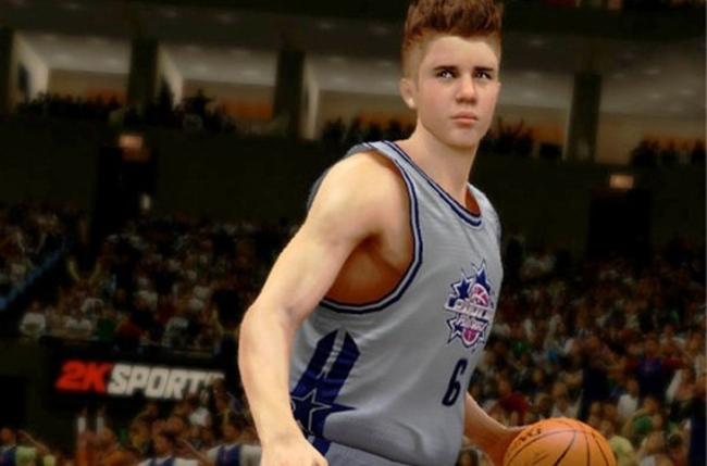 Justin Bieber en el NBA 2K13