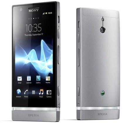 Sony presenta al Xperia P y al Xperia U