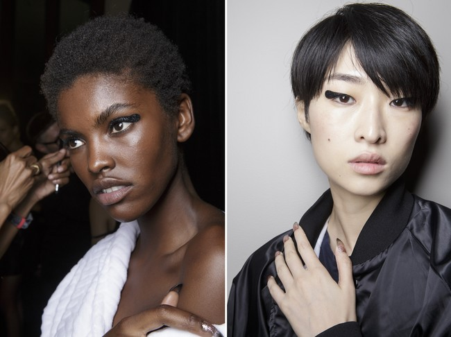 tendencias fashion week eyeliner redondo belleza