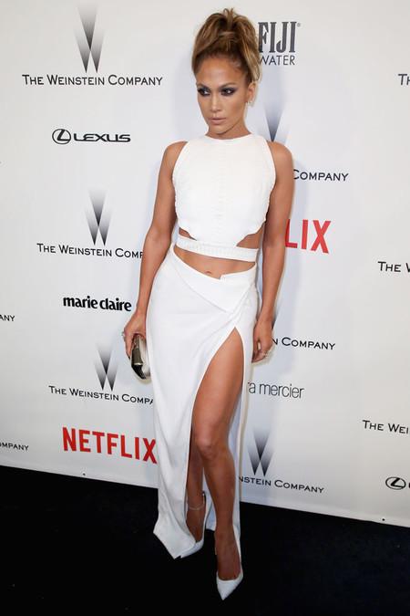 Jennifer Lopez se pasó al blanco